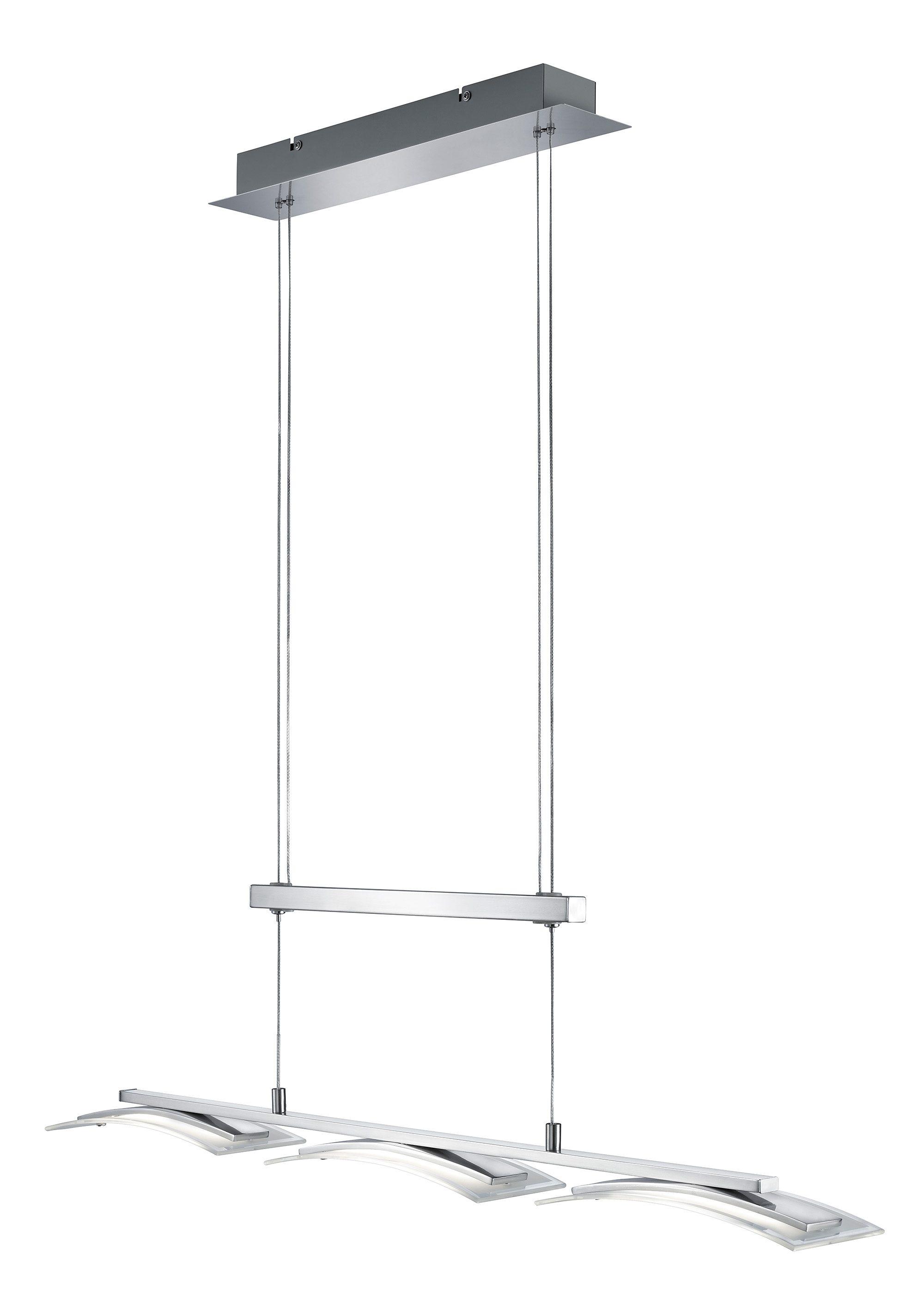 TRIO Leuchten LED Pendelleuchte STAKKATO, LED-Board, LED Hängelampe, LED Hängeleuchte