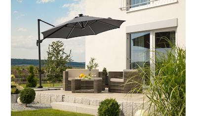 Schneider Schirme Ampelschirm »Rhodos Blacklight«, mit Schutzhülle und Schirmständer,... kaufen