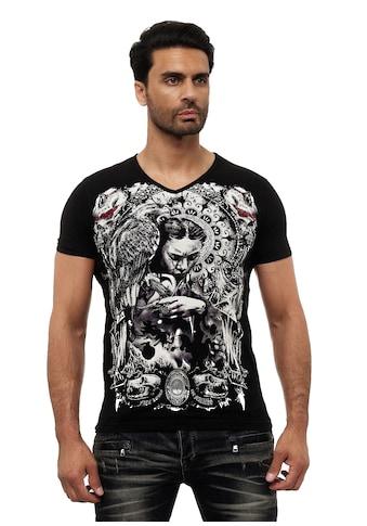KINGZ T-Shirt, mit ausgefallenem Design kaufen