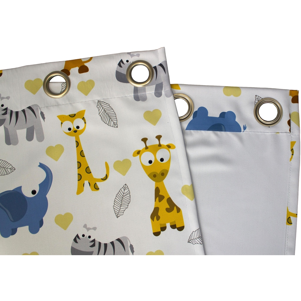 VHG Vorhang »Zoo«, Verdunkelungs, Dim Out