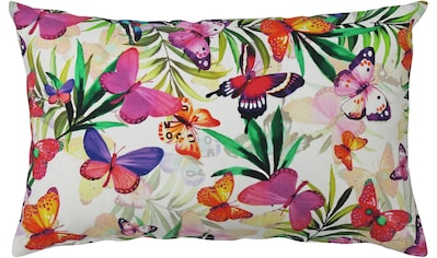 HOSSNER - HOMECOLLECTION Kissenhülle »32481 Butterfly«, (1), OUTDOOR kaufen