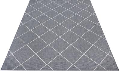 Home affaire Teppich »Cason«, rechteckig, 3 mm Höhe, Wohnzimmer, In- und Outdoor geeignet kaufen