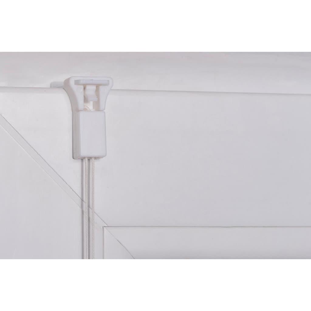 K-HOME Plissee »LUCERA«, Lichtschutz, ohne Bohren, verspannt, BAMBUS-Plissee