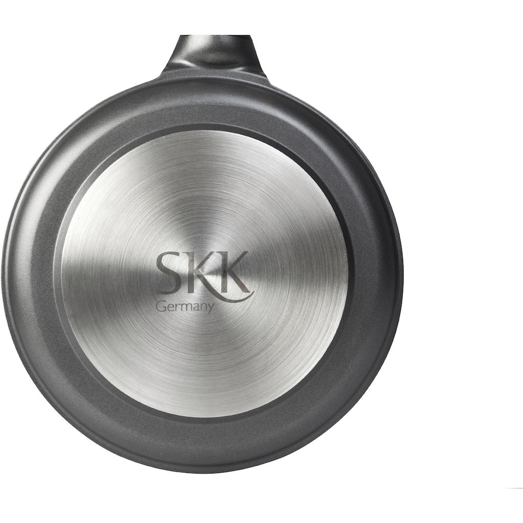 SKK Bratpfanne »Serie 6«, Aluminiumguss, (1 tlg.), Induktion, abnehmbarer Griff