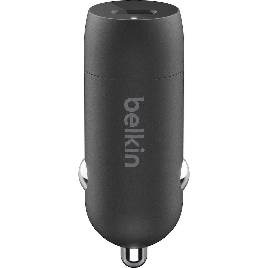 Belkin Schnelllade-Gerät »Boost Charge 20 Watt USB-C Kfz-Ladegerät«