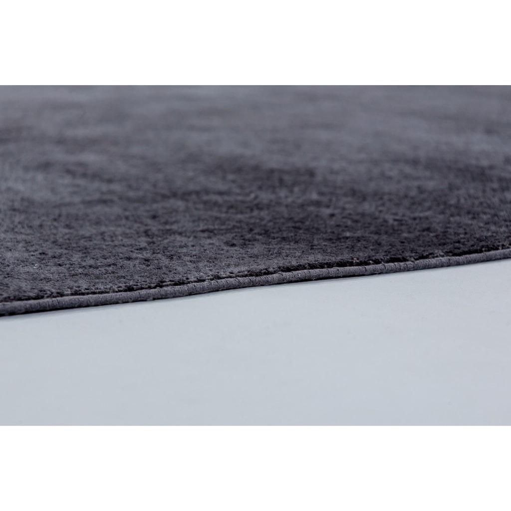 SCHÖNER WOHNEN-Kollektion Teppich »Velvet«, rechteckig, 7 mm Höhe, Viskose, Wohnzimmer