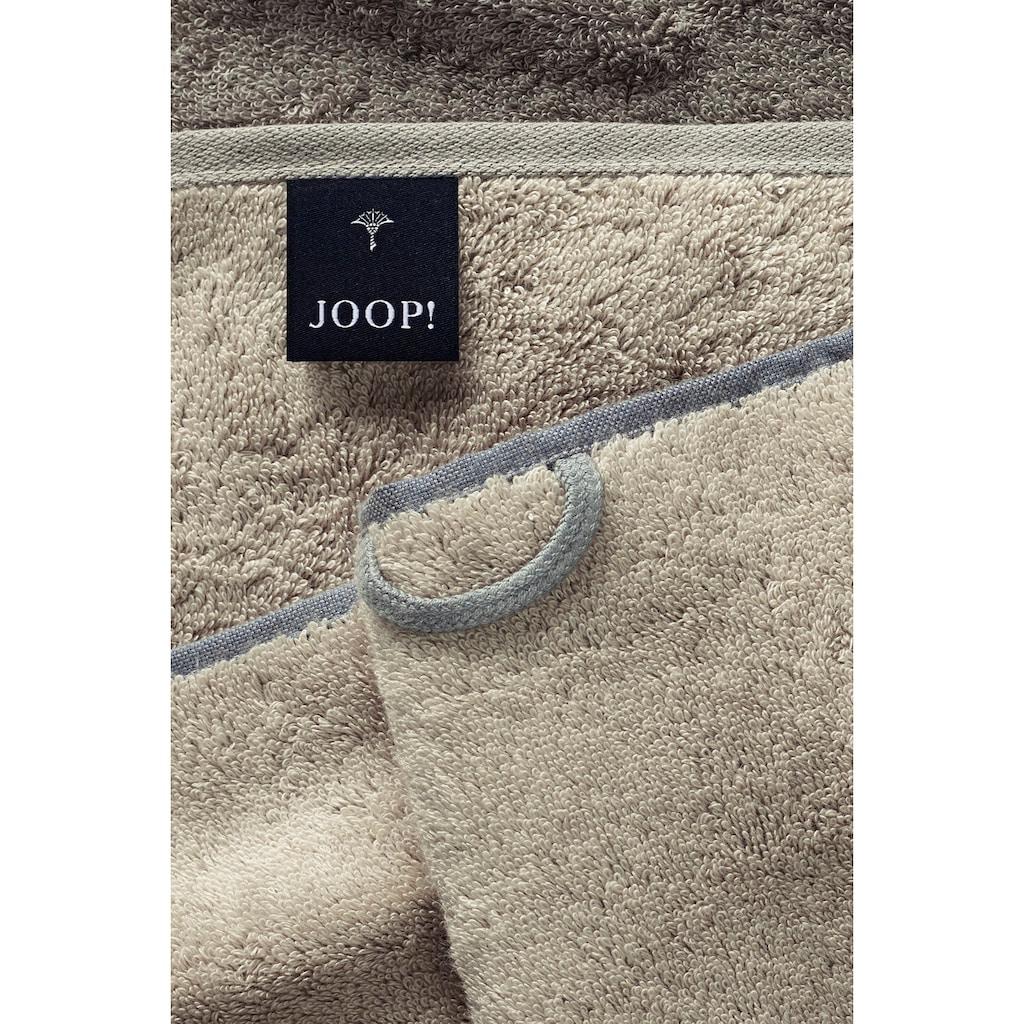 Joop! Saunatuch »Doubleface«, (1 St.), mit JOOP! Schriftzug