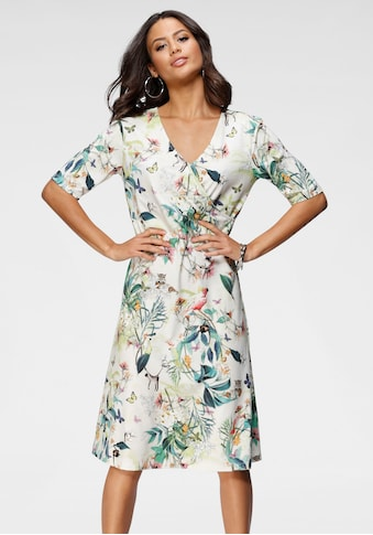 GERRY WEBER Jerseykleid, in femininer Wickel-Optik kaufen
