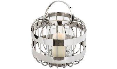 Fink Laterne »CAMERON«, aus Edelstahl und Glas kaufen
