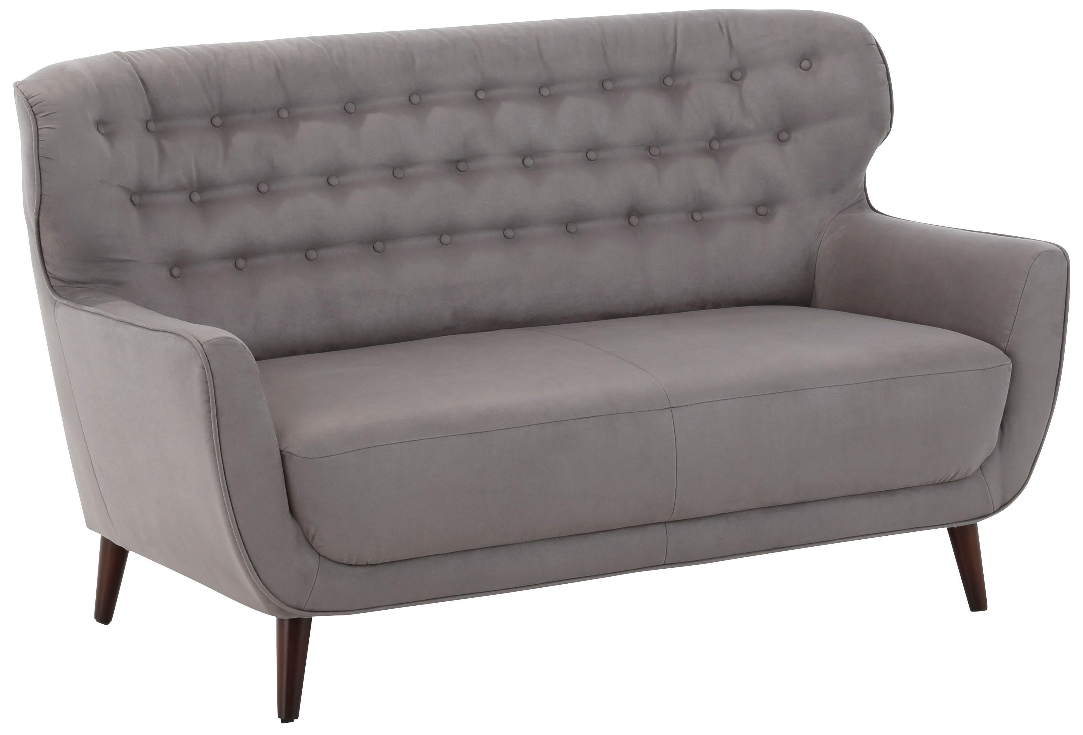 Home affaire 2-Sitzer Aberdeen mit Knopf-Heftung im Rücken im Retro-Design