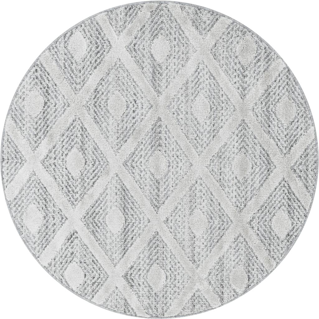 Ayyildiz Teppich »PISA 4707«, rund, 20 mm Höhe