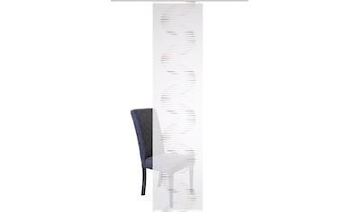 HOME WOHNIDEEN Schiebegardine »SIMANA«, Struktur Schiebevorhang kaufen