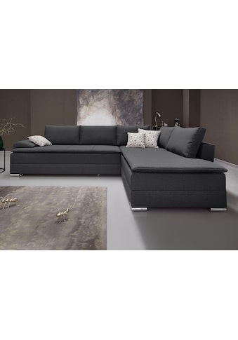 INOSIGN Ecksofa, mit Bettfunktion 180 cm, Dauerschlafgeeignet kaufen