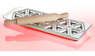 "imperia Ravioliform, mit Teigrolle, für 18 ""Tortelli Classici"", Aluminium kaufen"