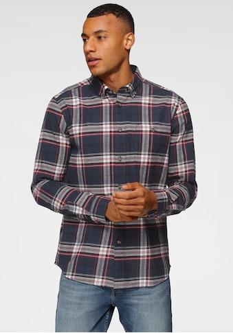 H.I.S Langarmhemd, mit Button Down Kragen kaufen