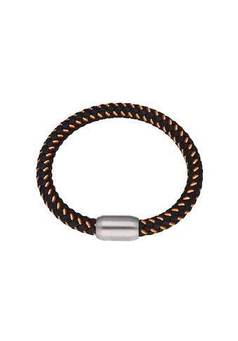 Jacques Charrel Armband »schwarz, geflochten, in Deutschland - Optik mit Magnetverschluß« kaufen