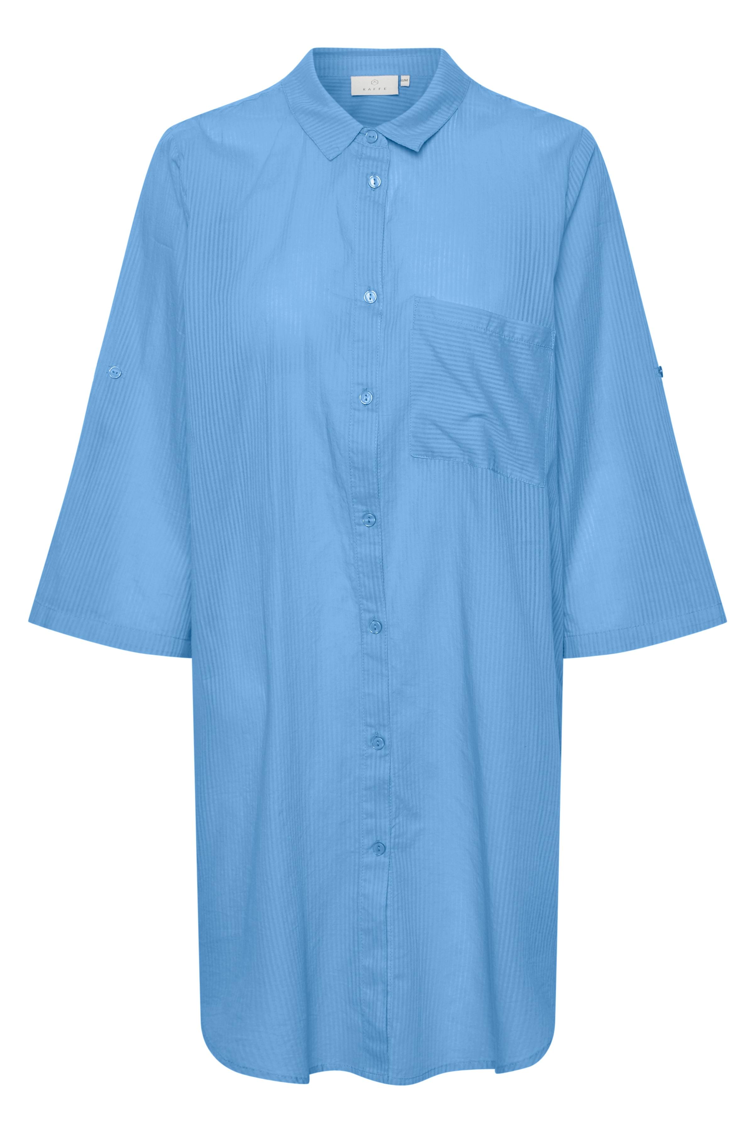 kaffe -  Hemdblusenkleid KArona Shirt