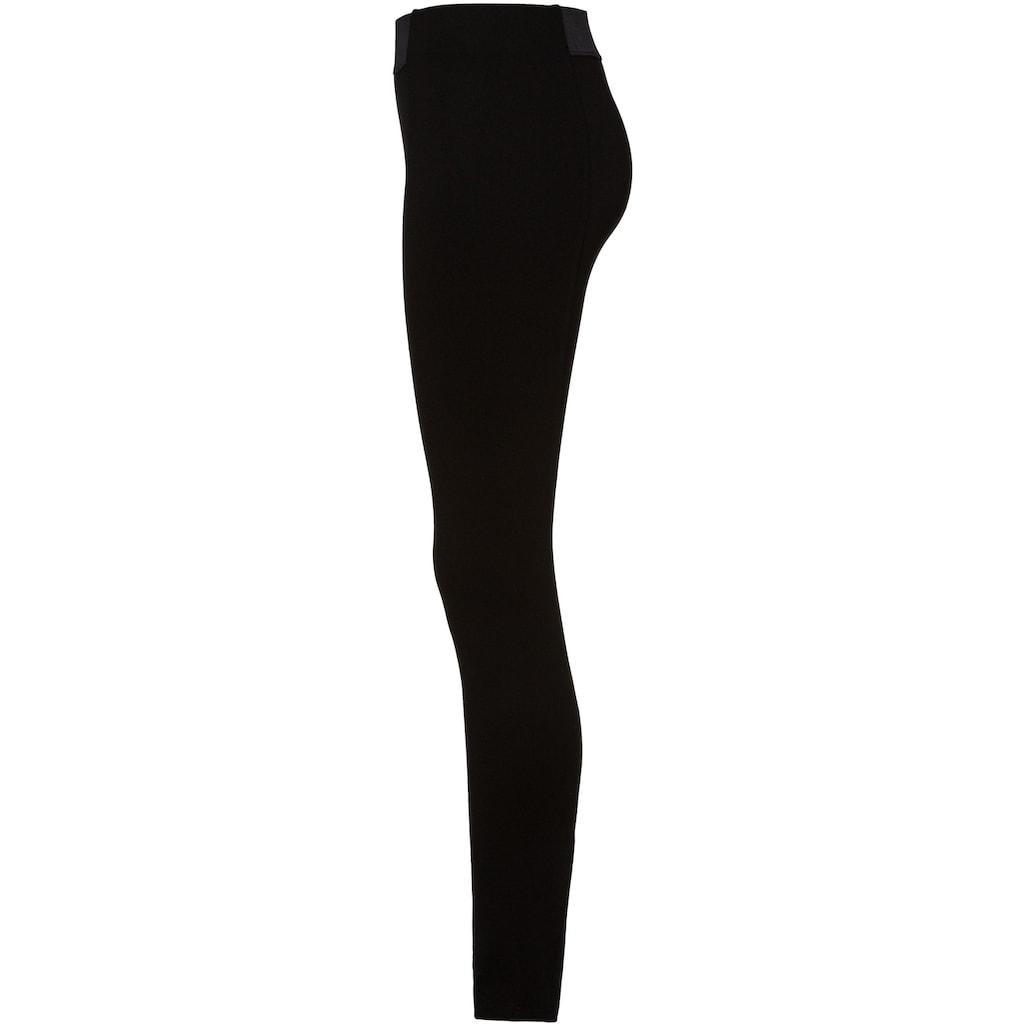 Esprit Stretch-Hose, knöchellange Form und in modischer Highwaist-Optik