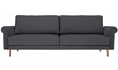 hülsta sofa 2-Sitzer »hs.450«, Armlehne Schnecke modern Landhaus, Breite 168 cm, Fuß... kaufen