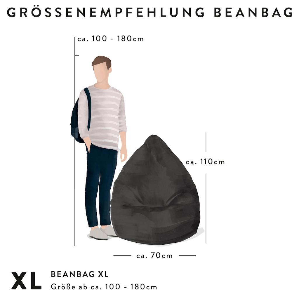 Sitting Point Sitzsack »BeanBag Goal XL«, Digitaldruck