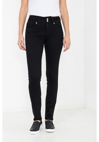 ATT Jeans Slim-fit-Jeans »Chloe«, mit Knopfverschluss, Slim Fit kaufen