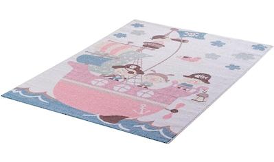 Kinderteppich, »Luna Kids 4604«, Sanat, rechteckig, Höhe 12 mm, maschinell gewebt kaufen
