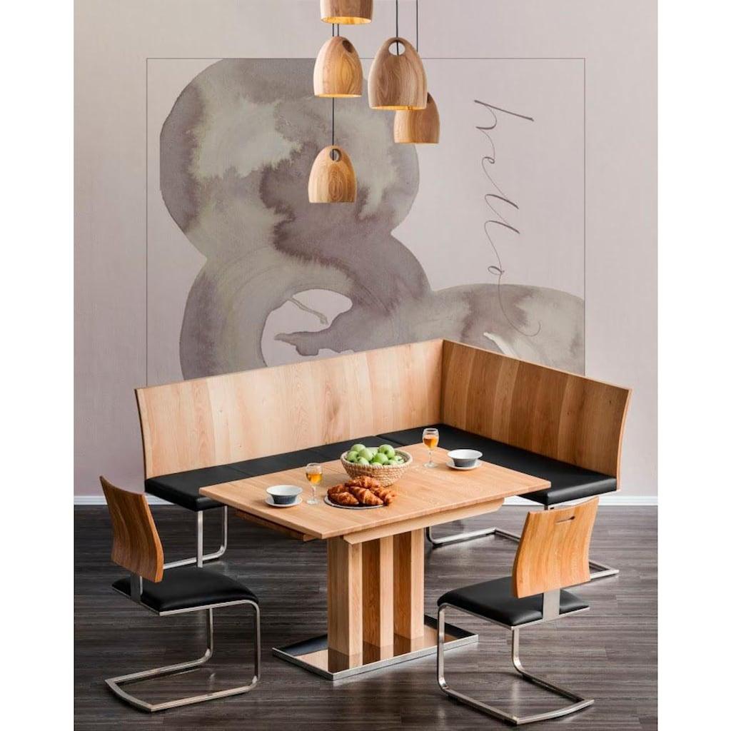 Places of Style Esstisch »Tina«, ausziehbar von 130 auf 180cm