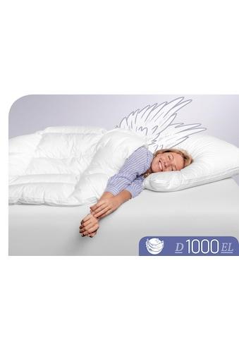 Schlafstil Daunenbettdecke »D1000«, extraleicht, (1 St.), Höchste Leichtigkeit kaufen