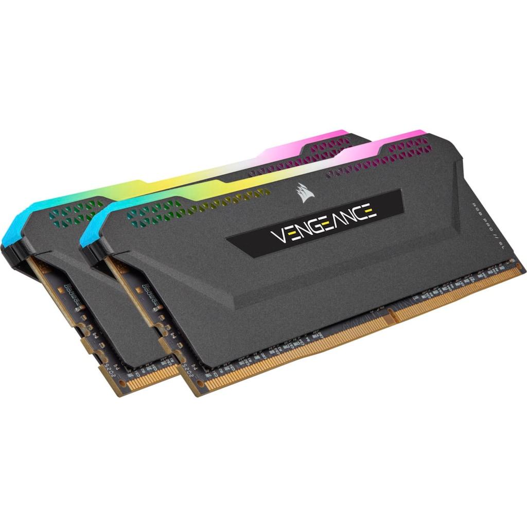 Corsair Arbeitsspeicher »Vengeance RGB PRO DDR4 3200Mhz 32GB (2x16GB)«
