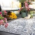 Obsession Teppich »My Sherpa 372«, rechteckig, 8 mm Höhe, Hoch-Tief Struktur, Orient-Optik, meliertes Garn, In- und Outdoor geeignet, Wohnzimmer