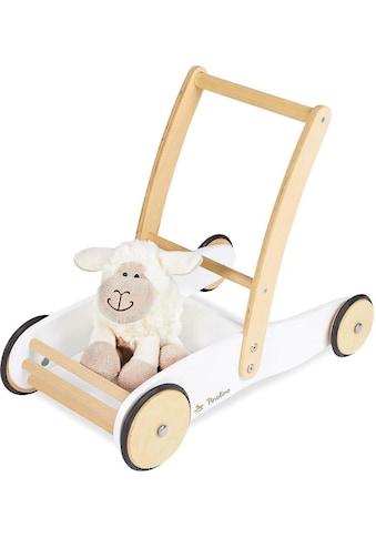 Pinolino® Lauflernwagen »Uli, weiß«, aus Holz kaufen