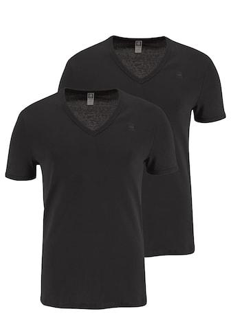 G-Star RAW T-Shirt, Basic-Artikel in blickdichter, hochwertiger Baumwollqualität kaufen