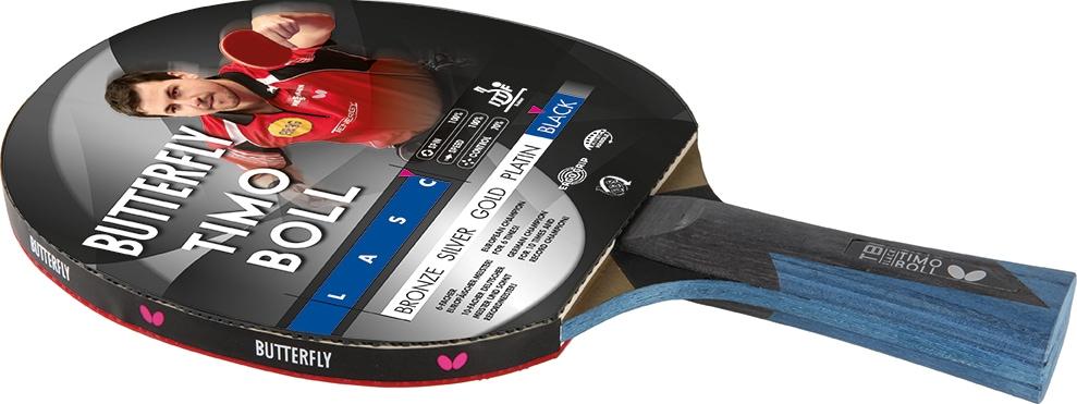 Butterfly Tischtennisschläger TIMO BOLL BLACK schwarz Tischtennis-Ausrüstung Tischtennis Sportarten