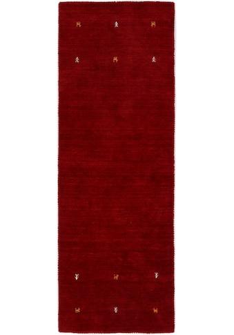 carpetfine Läufer »Gabbeh Uni«, rechteckig, 15 mm Höhe, reine Wolle, handgewebt,... kaufen