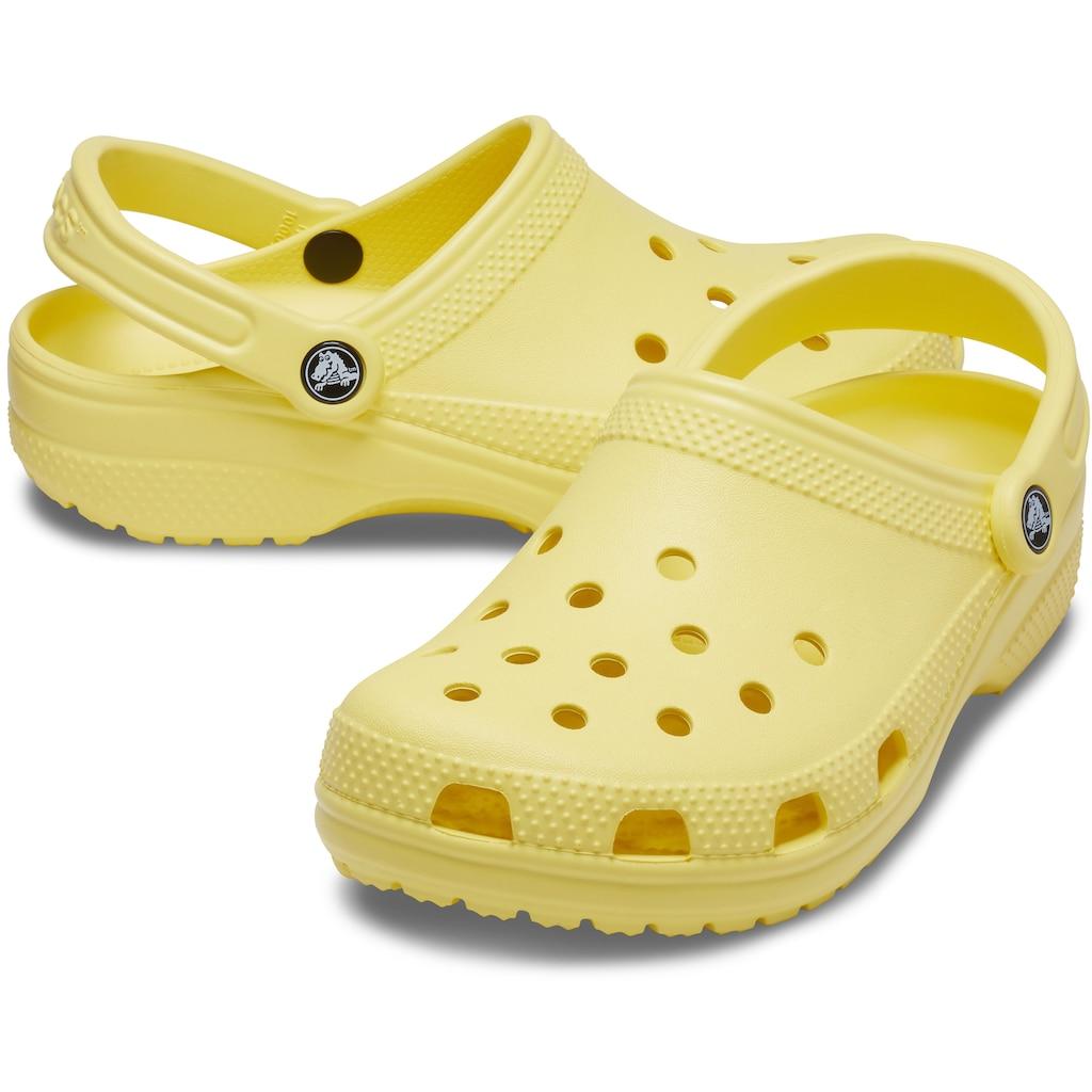 Crocs Clog »Classic Clog«, mit Fersenriemen