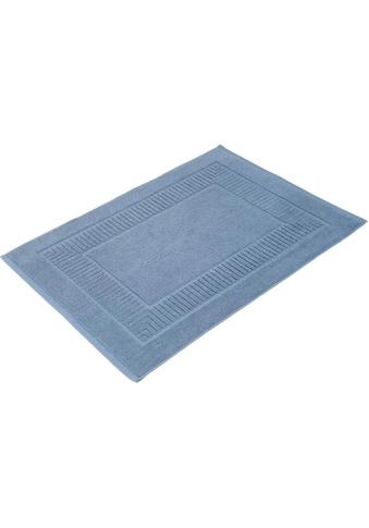 Gözze Badematte »Bio Uni«, Höhe 7 mm, fußbodenheizungsgeeignet-beidseitig nutzbar, Bio-Baumwolle kaufen