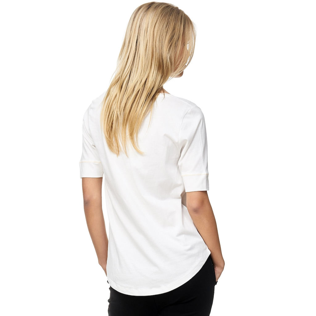 Decay T-Shirt, mit Foto Print und halblangen Ärmeln 3937817
