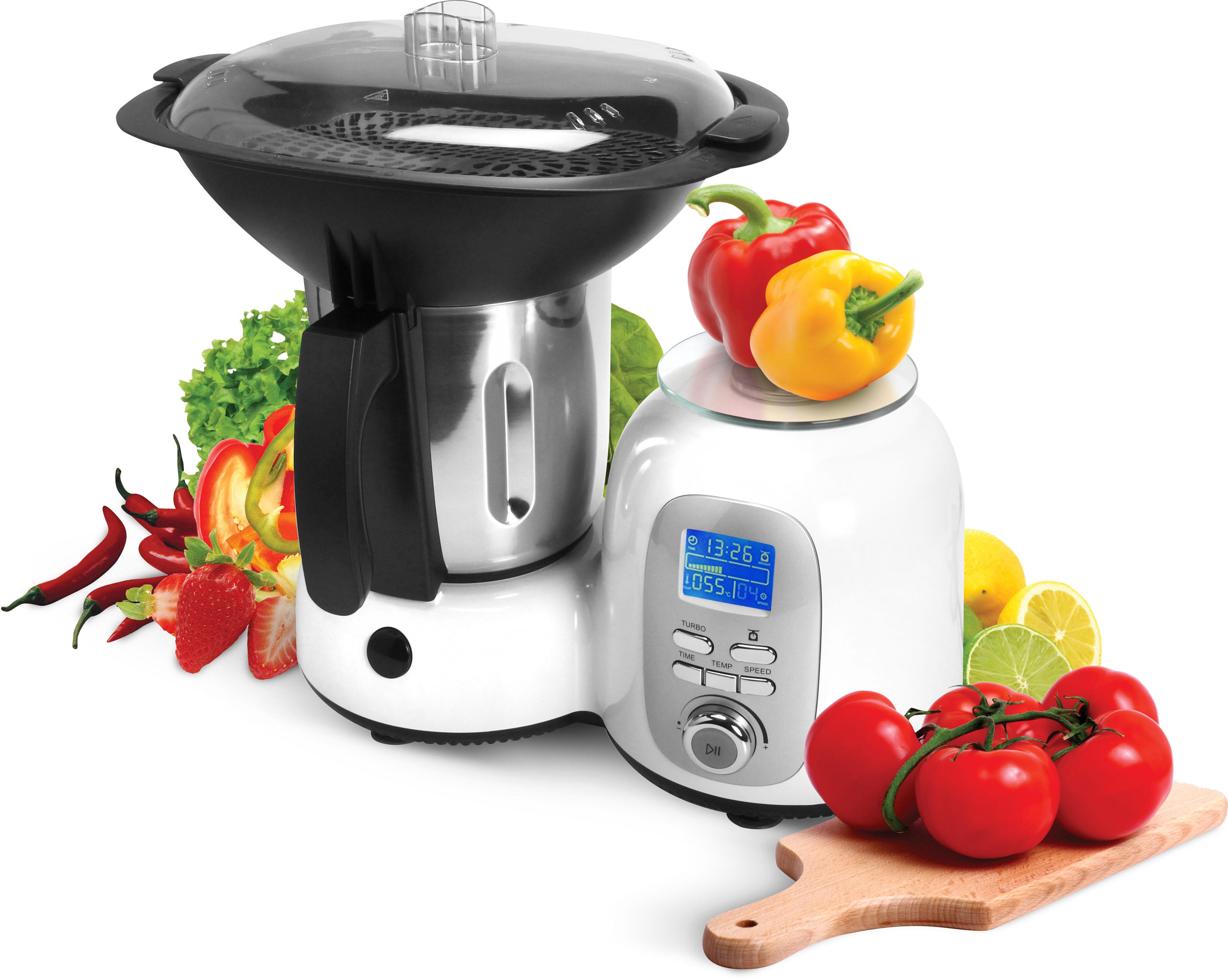 Efbe-Schott Küchenmaschine mit Kochfunktion SC HA 1020 weiß Küchenmaschinen Haushaltsgeräte