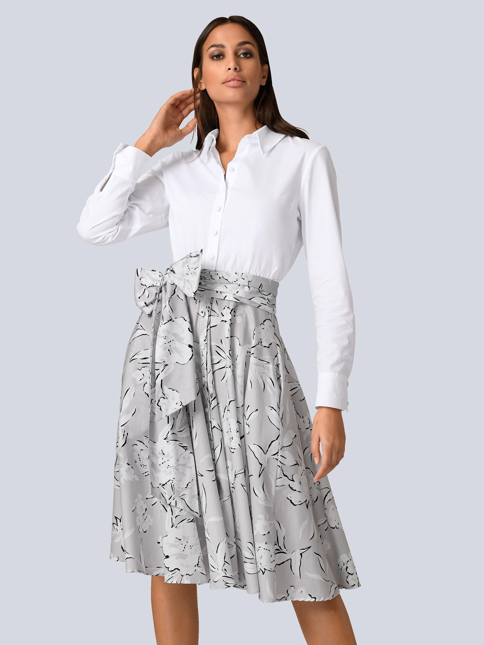 Alba Moda Kleid mit Hemdblusenkragen von BAUR