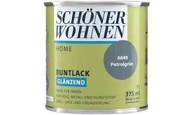SCHÖNER WOHNEN-Kollektion Lack »Home«, glänzend, 375 ml, petrolgrün kaufen