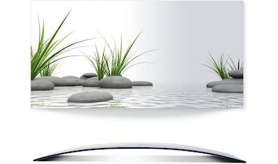 Artland Wandbild »3 D Steine«, Zen, (1 St.), 3D Optik gebogen kaufen