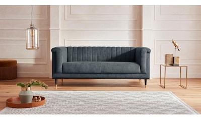 Guido Maria Kretschmer Home&Living 2-Sitzer »Chamby«, mit Holzrahmen unten und... kaufen