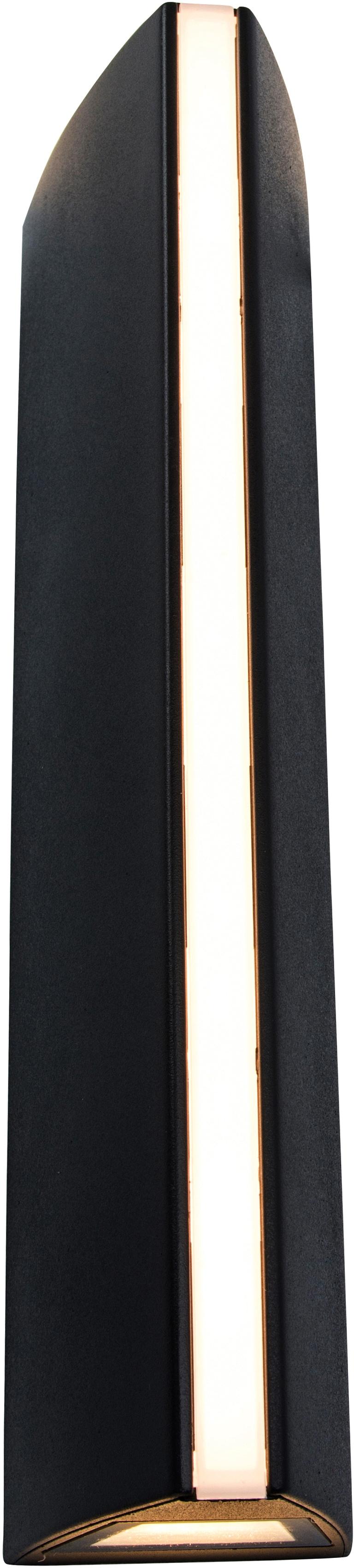 LUTEC LED Außen-Wandleuchte LEO 5192701330, LED-Modul, 1 St., Warmweiß