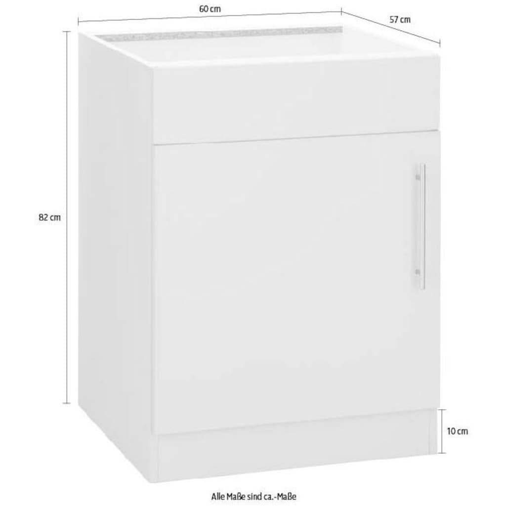 wiho Küchen Spülenschrank »Cali«, 60 cm breit, ohne Arbeitsplatte