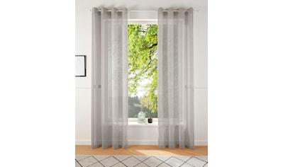 Gardine, »REGINA«, my home, Ösen 2 Stück kaufen