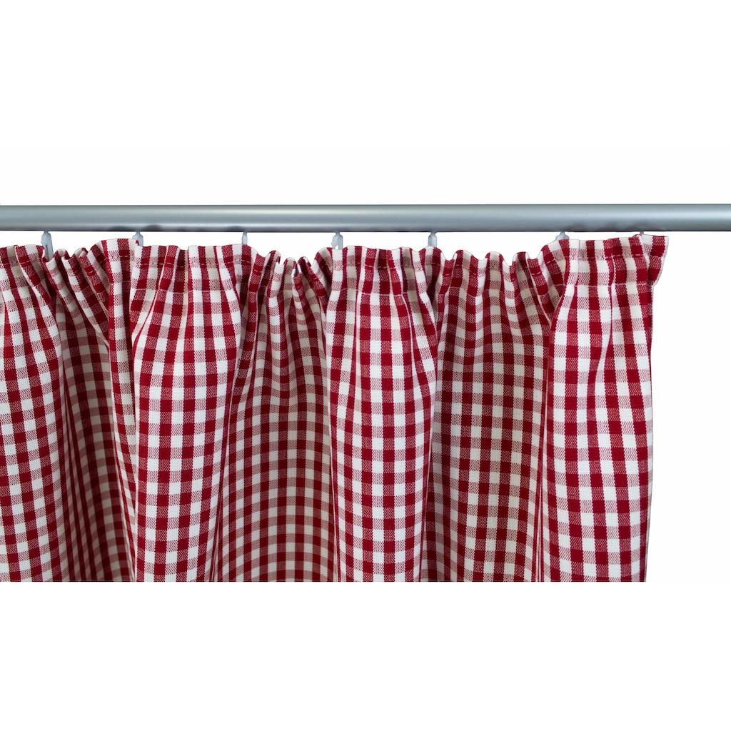 VHG Vorhang nach Maß »Resi«, Leinenoptik, Breite 150 cm