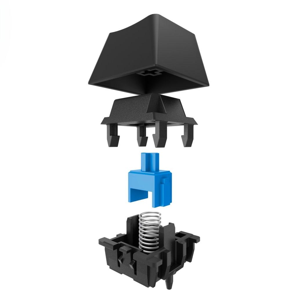 uRage Gaming-Tastatur, (Fn-Tasten-Profil-Speicher-Windows-Sperrtaste-Handgelenkauflage-USB-Anschluss)