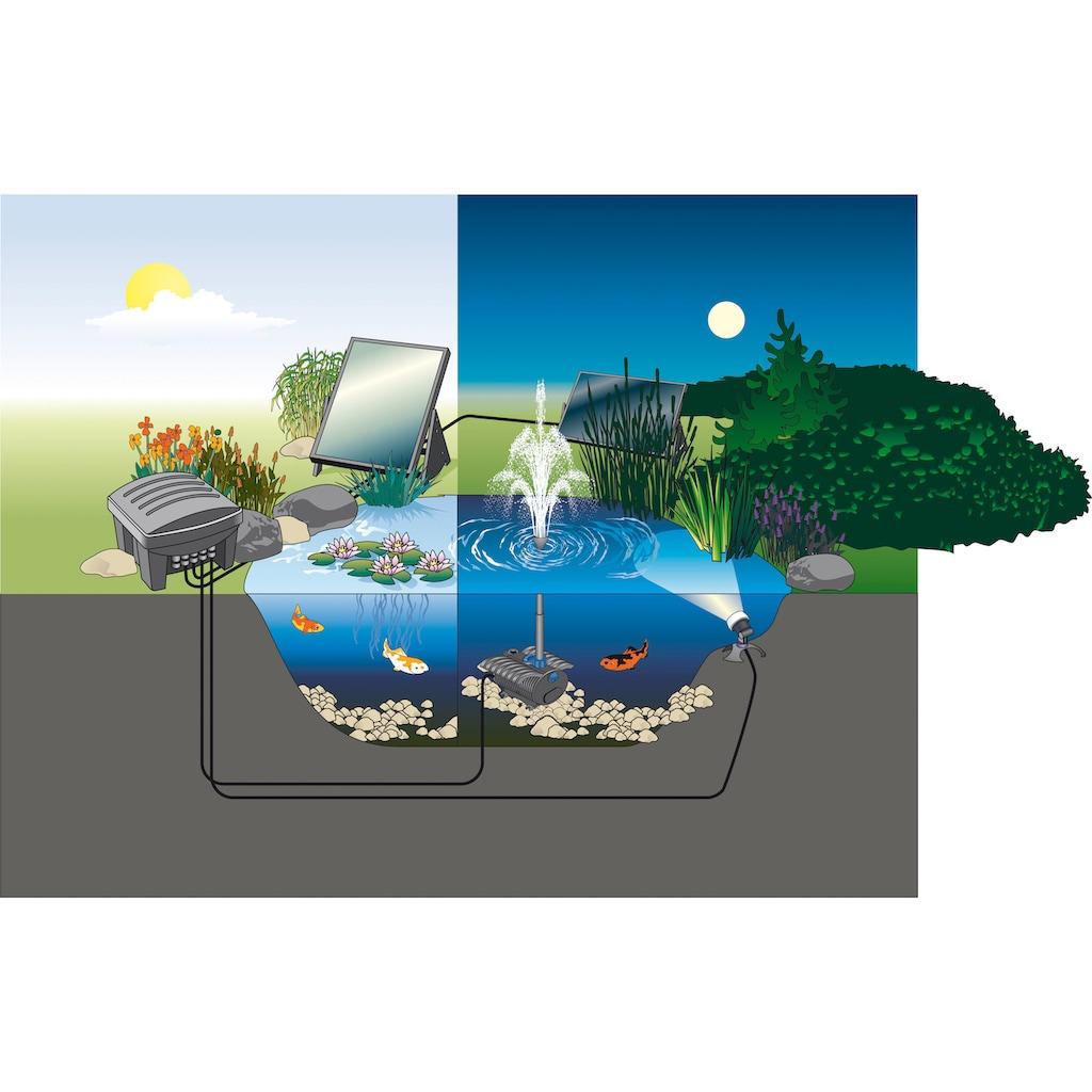 Pontec Solarpumpe »PondoSolar Lily Island«, 150 l/h