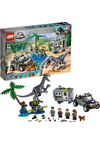 """LEGO® Konstruktionsspielsteine """"Baryonyxs Kräftemessen: die Schatzsuche (75935), LEGO® Jurassic World™"""", (434 - tlg.) kaufen"""