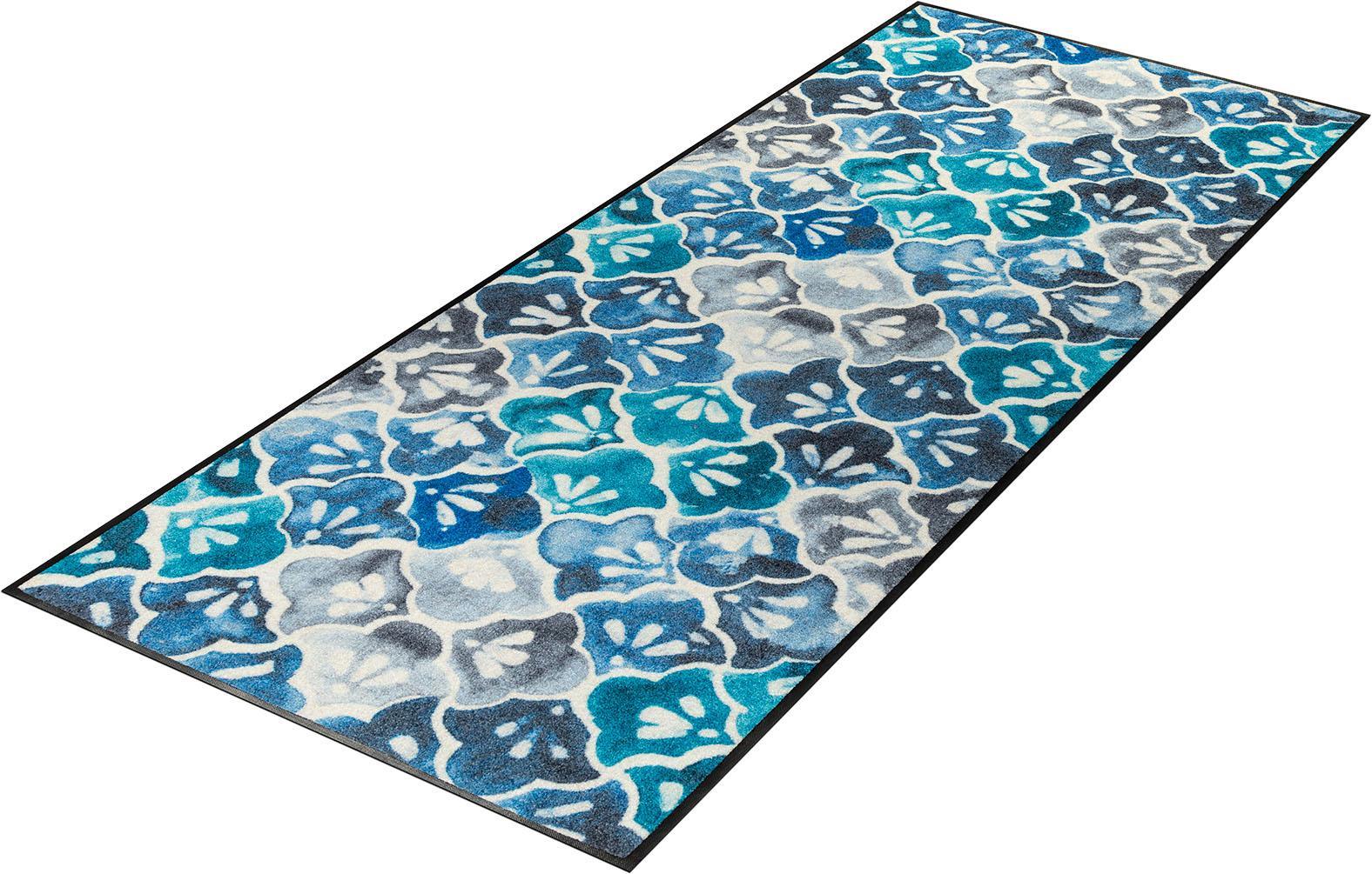 Läufer Ground wash+dry by Kleen-Tex rechteckig Höhe 7 mm gedruckt
